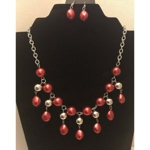 Queen Of The Gala - Red Paparazzi Necklace